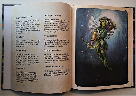 Amazing Tales kids RPG pages