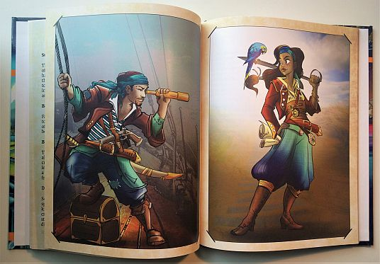 Amazing Tales Kids RPG Pirate Spread